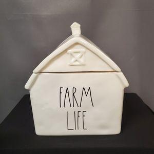 Rae Dunn FARM LIFE Canister/Cookie Jar
